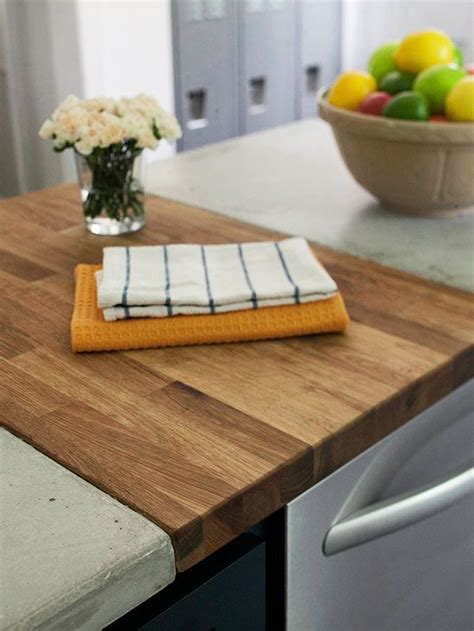 Cutting Board Kitchen Countertop by Concrete Countertop Ideas Concrete Counter Cutting