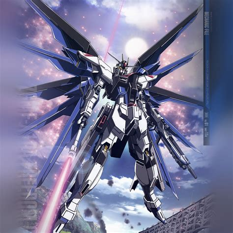 gundam art wallpaper ar85 freedom gundam art illustration anime