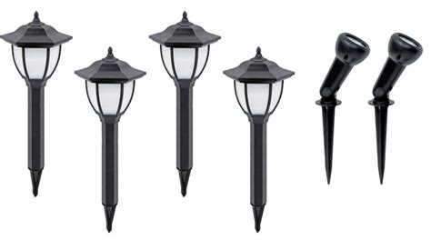 Brinkmann Led Landscape Lights Brinkmann Landscape Lighting Brinkmann Led Low Voltage Landscape Spotlight 6 Pack Walmart
