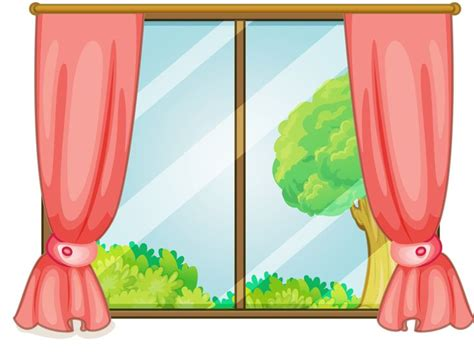 clipart windows curtain clipart school window pencil and in color