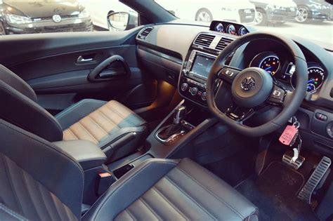 volkswagen scirocco 2016 interior 2016 volkswagen scirocco r in black interior