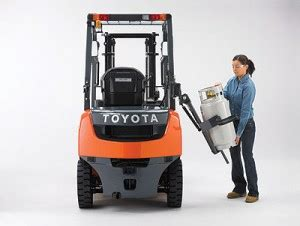 forklift safety: points to remember with propane toyota