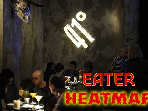 eater heat map the eater barcelona heat map where to eat right now eater