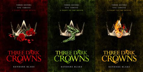 three dark crowns 1509804552 three dark crowns no spoiler book review sprinkled pages