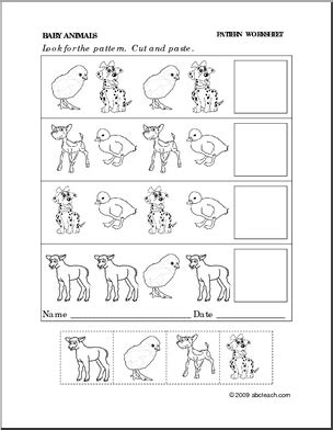 pattern worksheet pre k search results for thanksgiving cut and paste activities