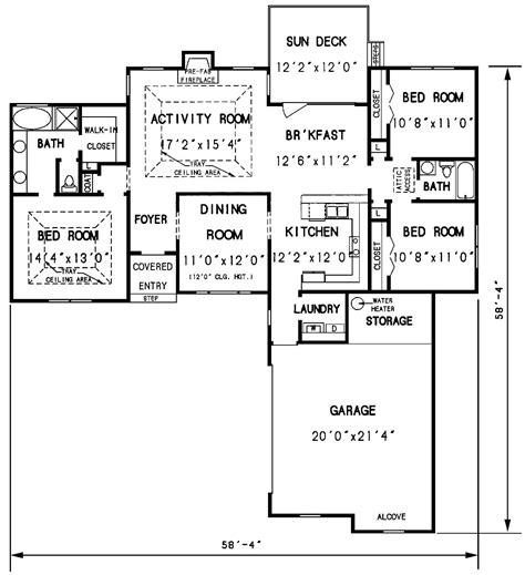 1st floor house plan the valdosta 3297 3 bedrooms and 2 5 baths the house designers