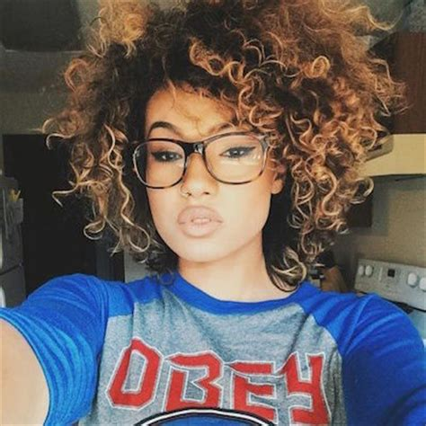 ombre hair afro 20 stunning short and curly hairstyles for women popular