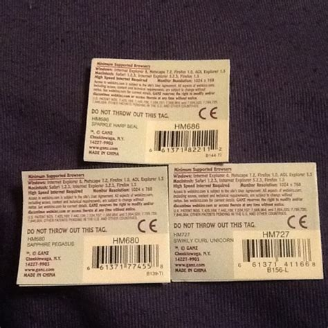 code kuota gratis3 free webkinz unused code tag lot 3 unicorn pegasus and