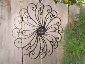 Large Wrought Iron Wall Decor by Large Wrought Iron Wall Decor Shabby Chic Decor