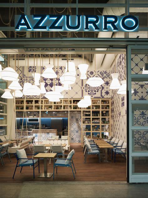design cafe zürich azzurro restaurante comodoos interiores
