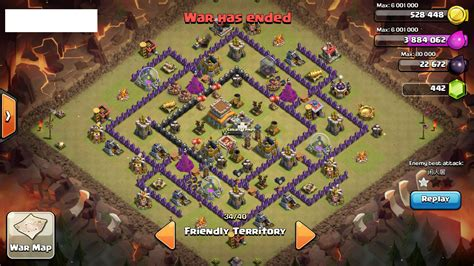coc layout anti dragon th8 th 8 adult army coc