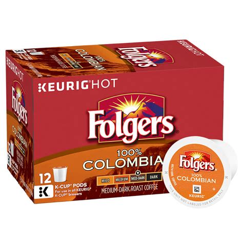 folgers coffee pods black silk k cup pods folgers coffee