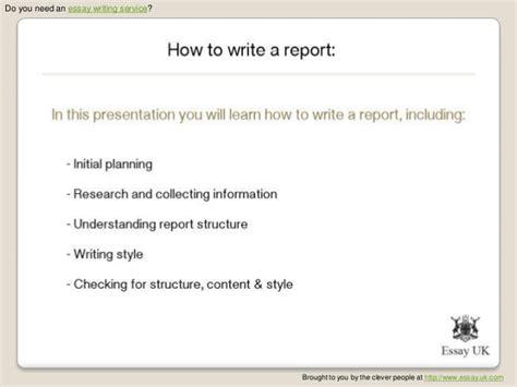 sle how to write a report how to write a report for work sle 28 images 12 offer