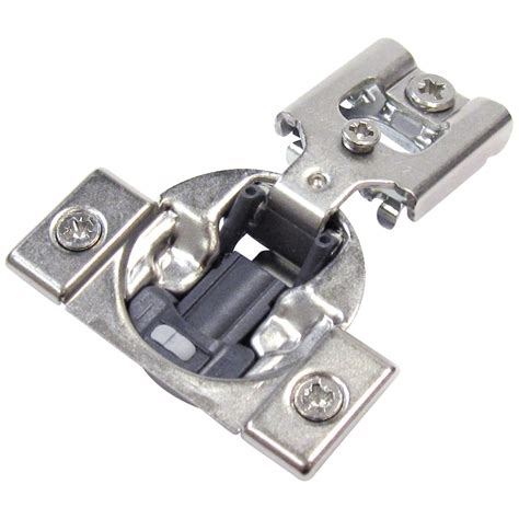 soft close cabinet hinges lowes shop richelieu 10 pack 4 1 2 in x 2 1 2 in gray concealed