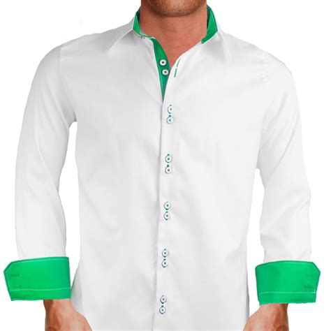 Handmade Dress Shirts - white custom dress shirts