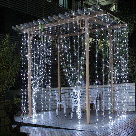 fairy curtain lights 3m 3m 300 leds icicle light string fairy curtain wedding