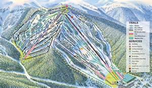 colorado ski report map cooper trail map