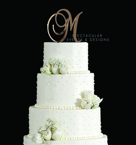 Wedding Cake Letter Toppers by Best 25 Letter Cake Toppers Ideas That You Will Like On