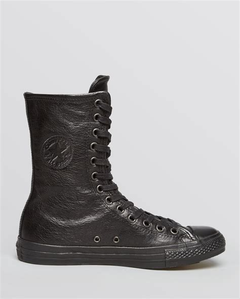 all black high top sneakers converse chuck all x high top sneakers in