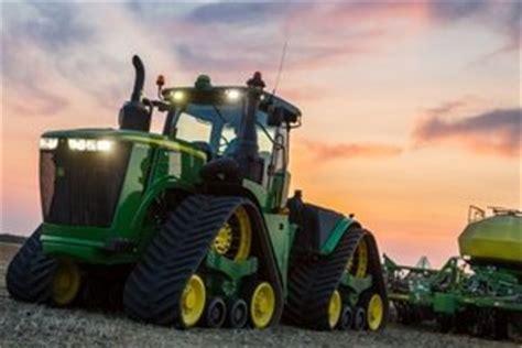john deere announces new 2016 9rx series of tractors