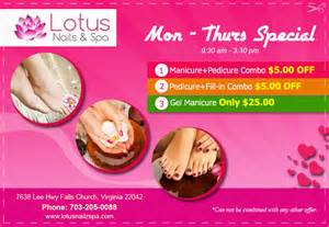Lotus Nail Salon Nail Salon 22042 Of Falls Church Va Lotus Nails Spa