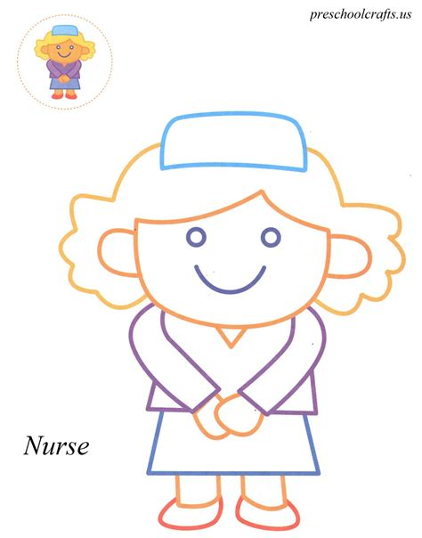 preschool coloring pages nurse 93 nurse coloring pages for preschool nurse