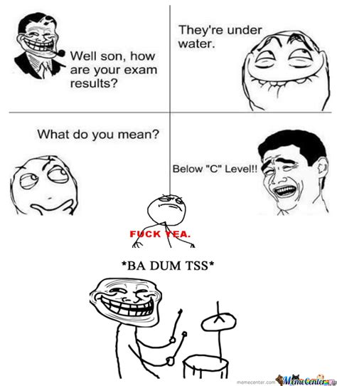Son And Dad Meme - rmx troll dad lol son by sillypanda the first meme center