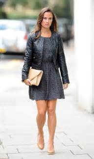 middleton pippa pippa middleton goes rocker chic in leather jacket pics