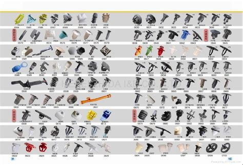 Auto Upholstery Fasteners Image Gallery Plastic Clips