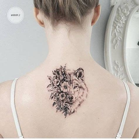 tattoo girl and wolf 100 most fascinating designs of tattoos for girls
