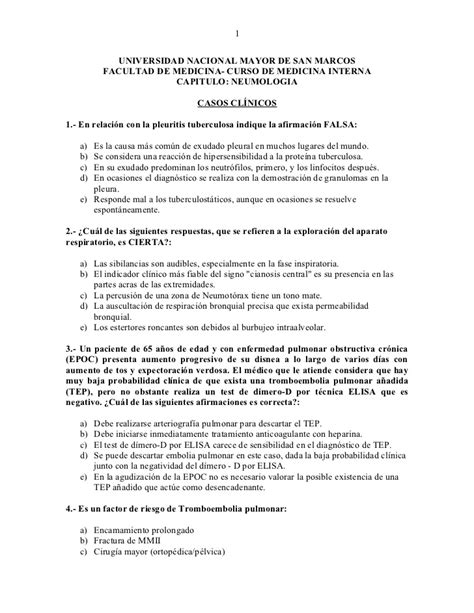 preguntas de historia clinica preguntas neumologia casos clinicos