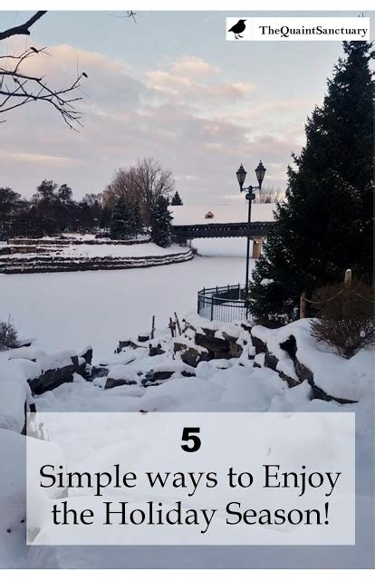 4 Ways To Enjoy The Holidays While Still Keeping Your Mind And Fit Fitnish The Quaint Sanctuary 5 Simple Ways To Enjoy The Season
