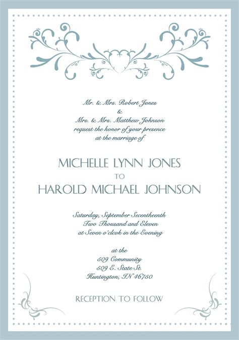 official invitation card template sle wedding invitation cards in wedding