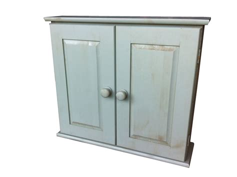 distressed bathroom cabinet