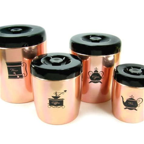 pink kitchen canister set best tea coffee sugar canisters products on wanelo