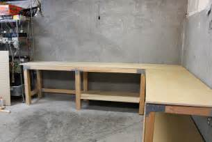 garage bench designs garage shop corner shape workbench folding workbench garage home design ideas