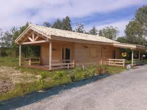 Plans For Pergolas by Chalet Habitable De 80m 178 En Bois En Kit