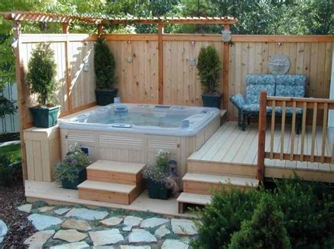 backyard spa ideas best 25 backyard tubs ideas on tub