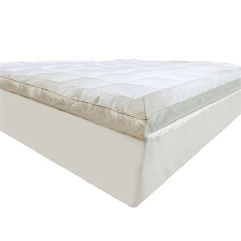 pillow top bed topper luxo king microfibre pillow top mattress topper buy king