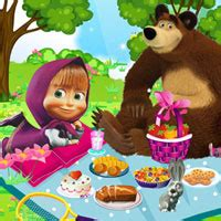 Gamis Masha Picnic masha and the picnic info about the games2rule
