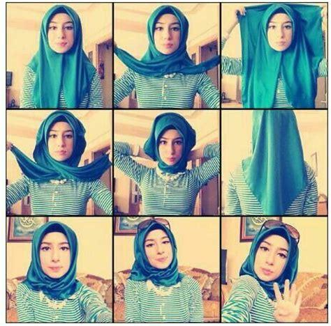 kreasi hijab modern hairstylegalleriescom cara memakai jilbab segi empat kreasi modis ala turki