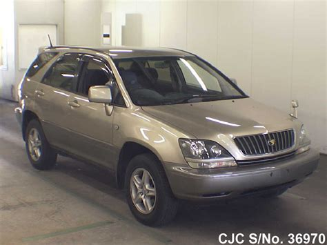 Toyota Harrier 1998 Model 1998 Toyota Harrier Gold For Sale Stock No 36970