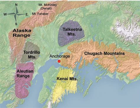 anchorage alaska us map anchorage a municipality situated in the of the