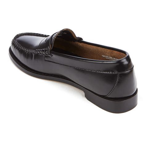 bass loafers womens bass weejuns s leather loafers black free
