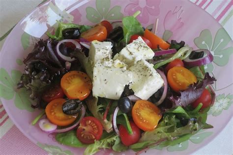 light lunch the classic greek salad a model recommends