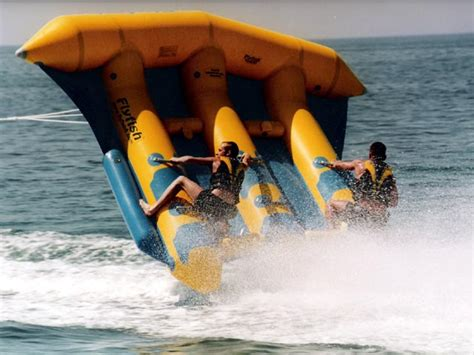 flying boat towables south bali tour pandawa beach uluwatu temple nusa