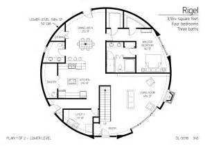 floor plan dl 5018 monolithic dome institute