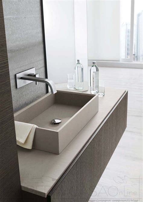 mobili bagno grigio mobile bagno moderno rovere grigio offerta web lin12