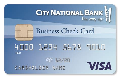 nearest city national bank check cards for small business city national bank