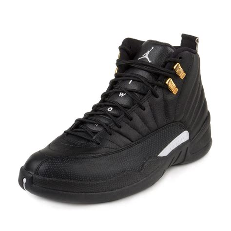 men jordan 1 c nike mens air jordan 12 retro black white metallic gold